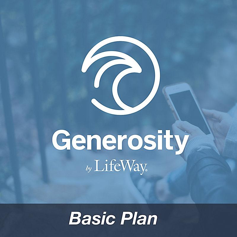 Generosity by LifeWay - Basic Plan