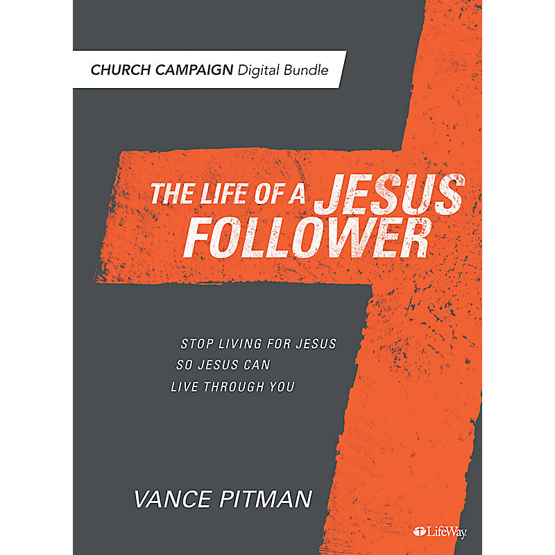 The Life of a Jesus Follower - Digital Church Campaign Bundle