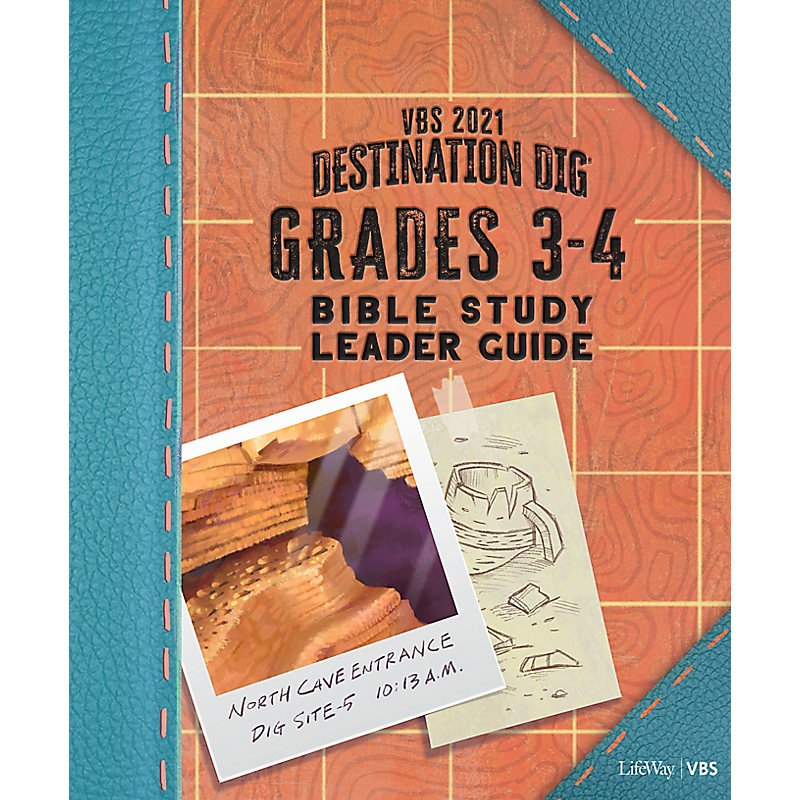 VBS 2021 Grades 3-4 Bible Study Leader Guide