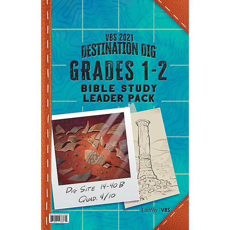 VBS 2021 Grades 1-2 Bible Study Leader Pack