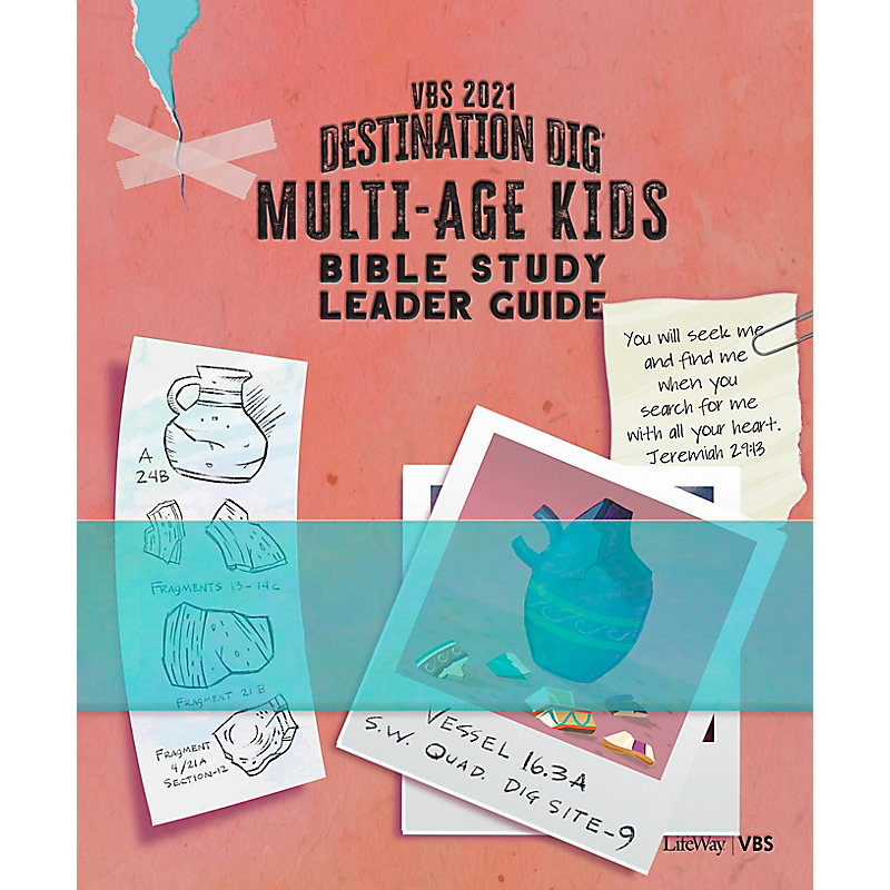 VBS 2021 Multi-age Kids Bible Study Leader Guide