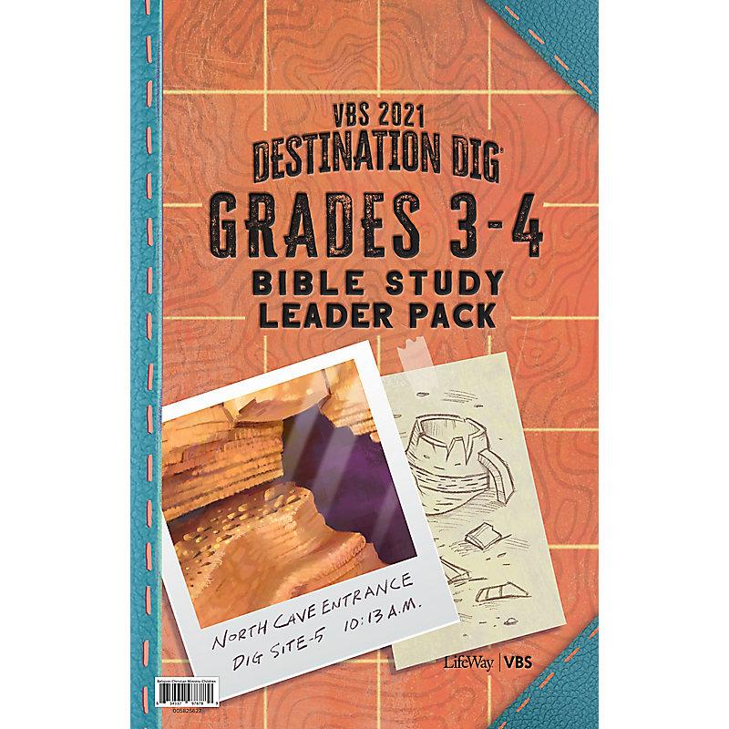 VBS 2021 Grades 3-4 Bible Study Leader Pack