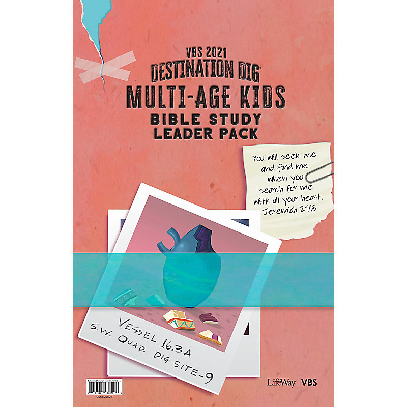 VBS 2021 Multi-age Kids Bible Study Leader Pack