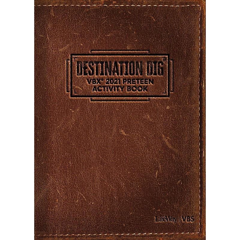 VBS 2021 VBX Preteen Activity Book