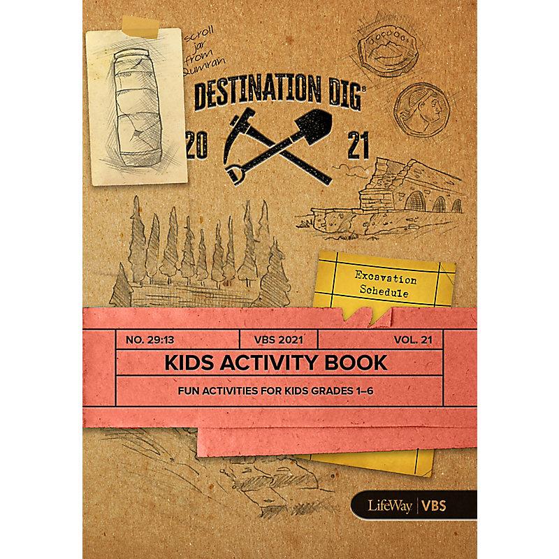 VBS 2021 Kids Activity Book