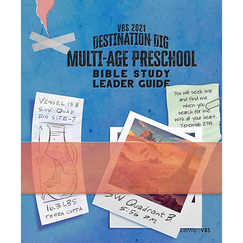 VBS 2021 Multi-age Preschool Bible Study Leader Guide
