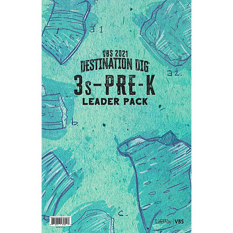 VBS 2021 3s-PreK Leader Pack
