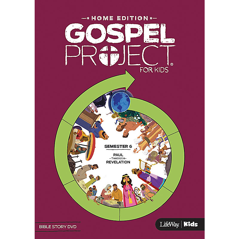 The Gospel Project Home Edition Bible Story DVD Semester 6