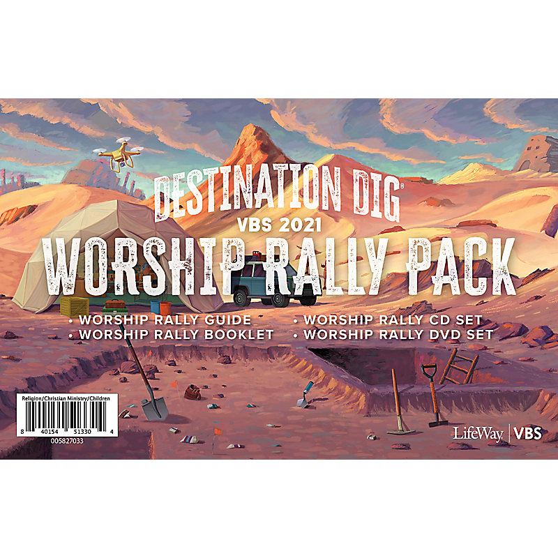 VBS 2021 Worship Rally Pack