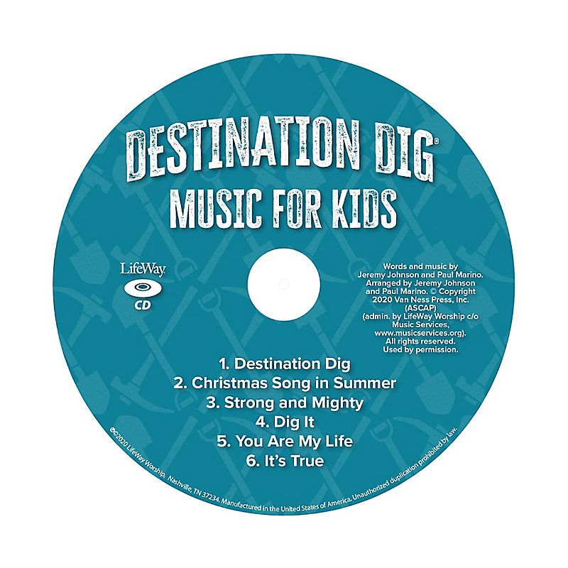 VBS 2021 Music for Kids CD Pkg. 50