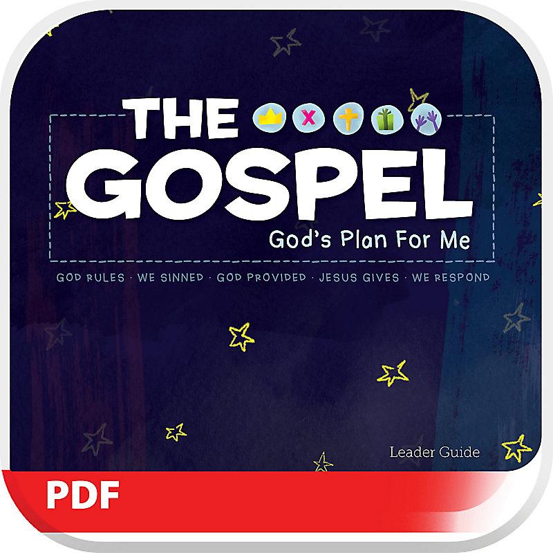 The Gospel: God's Plan for Me - Leader Guide PDF