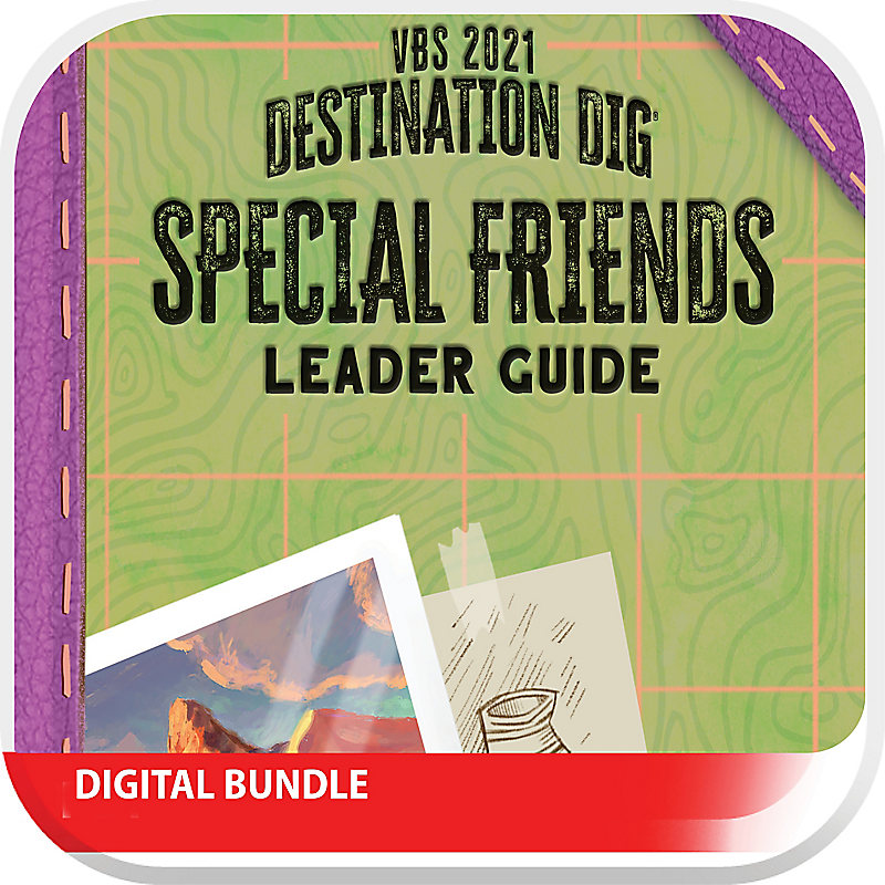 VBS 2021 Special Friends Leader Guide Digital