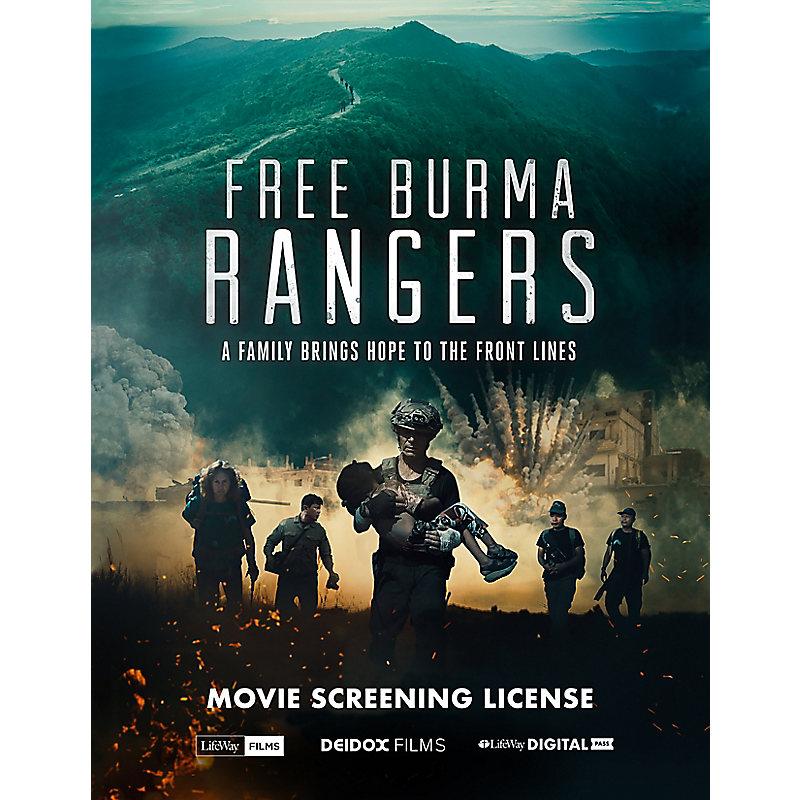 FREE BURMA RANGERS - Movie Screening Event - Large Church