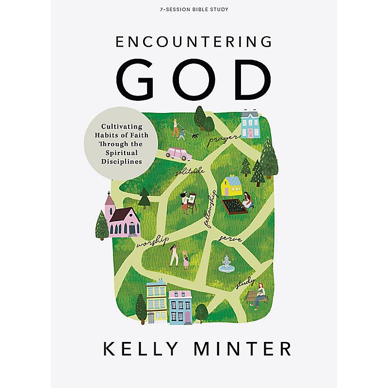Encountering God - Bible Study Book
