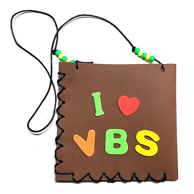 VBS 2021 Dig Site Water Pouch Craft Pack (ages 3-12)