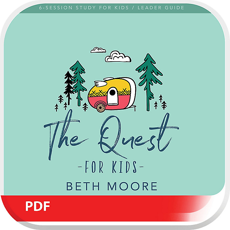 The Quest for Kids Bible Study Leader Guide - Digital