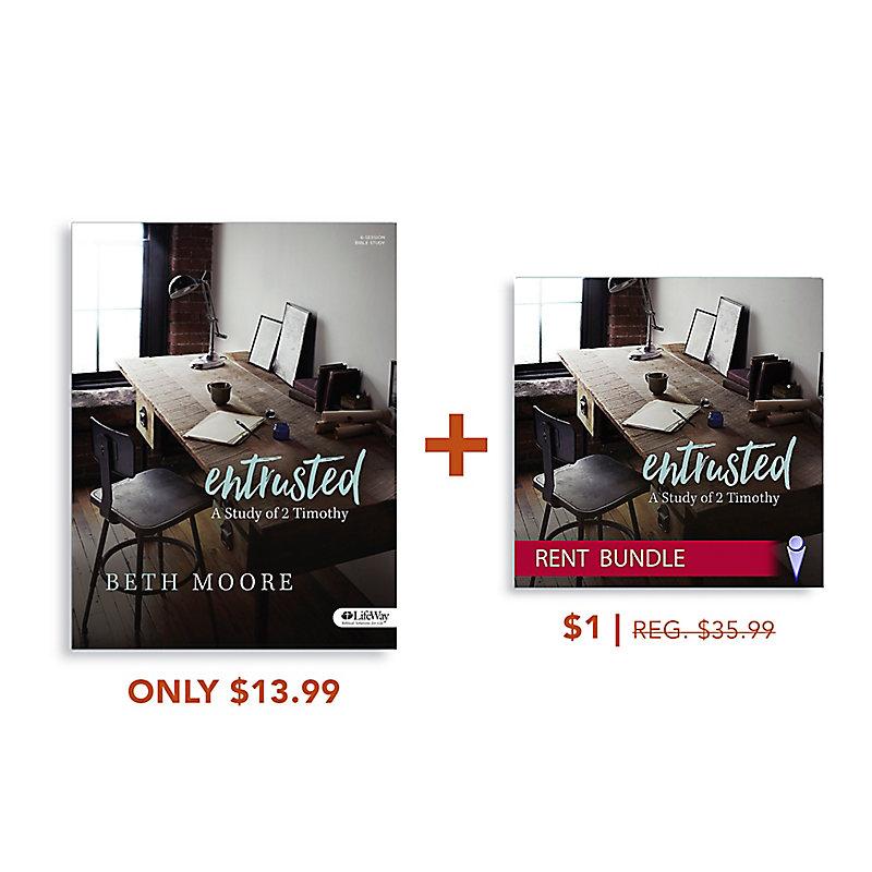 Entrusted Bible Study Book + Video Rental Bundle