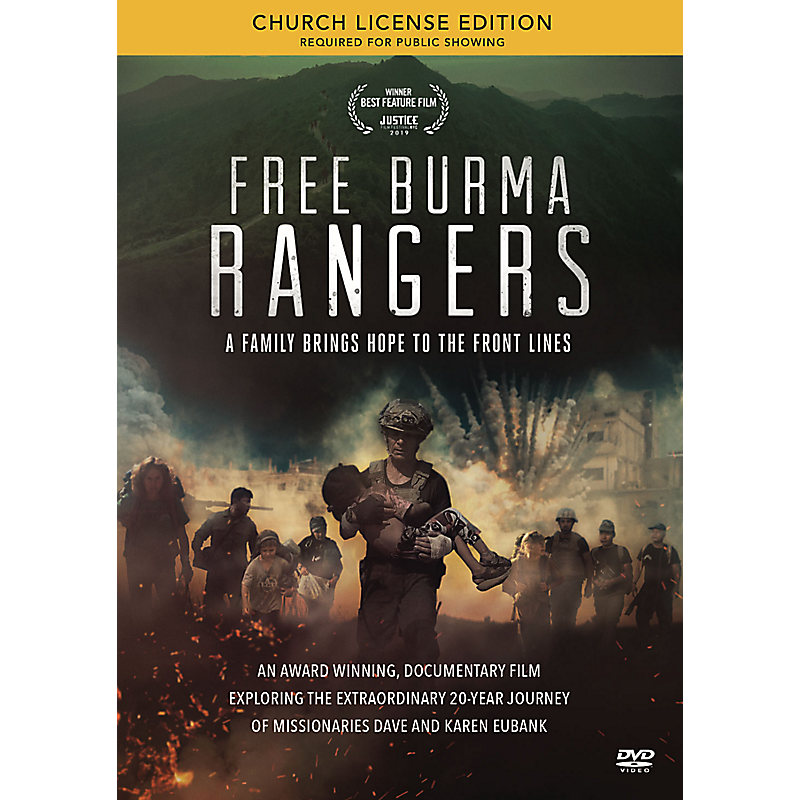 Free Burma Rangers - Church License DVD