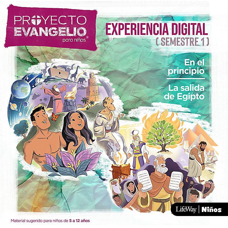 El Proyecto Evangelio para niños Semestre 1 - Experiencia digital descargable