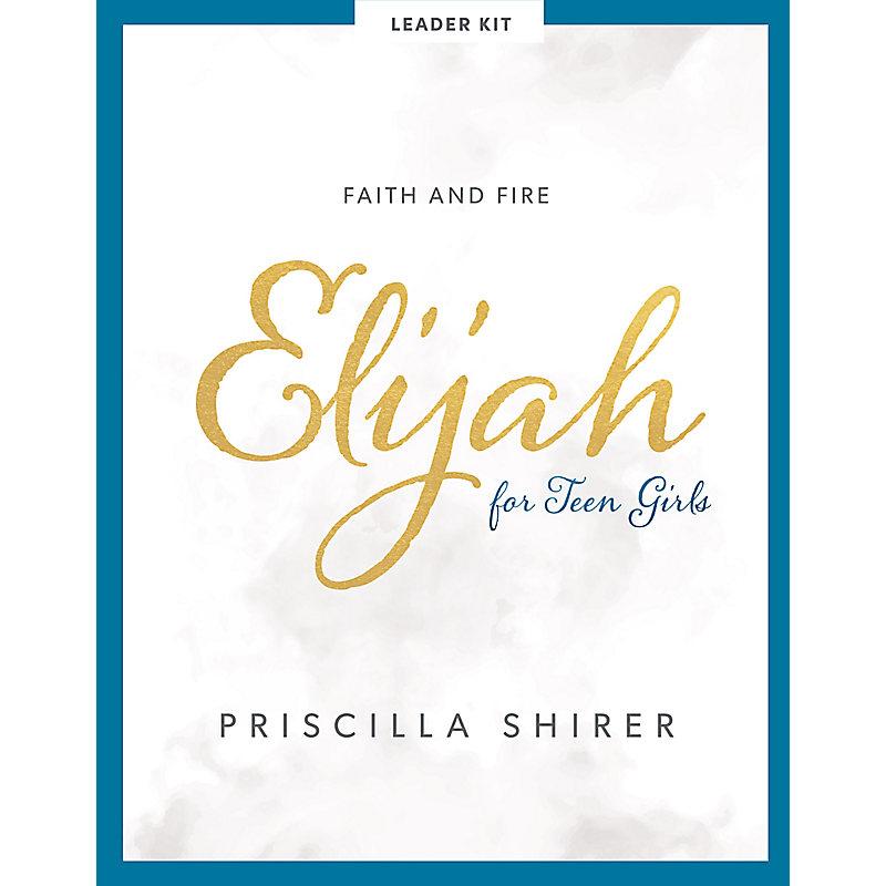 Elijah - Teen Girls' Bible Study Leader Kit