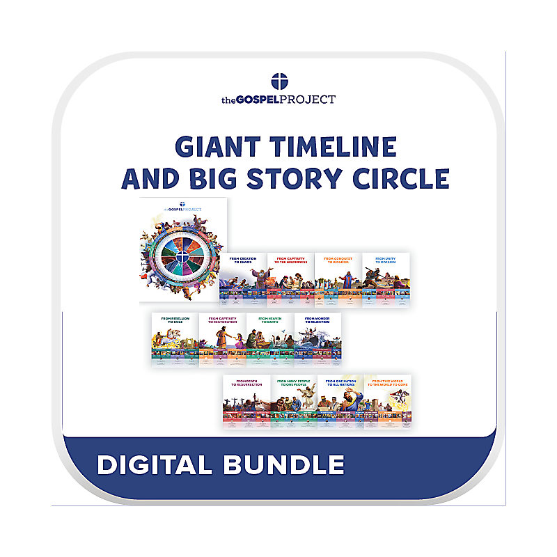 The Gospel Project for Kids: Giant Timeline and Big Story Circle (Digital)