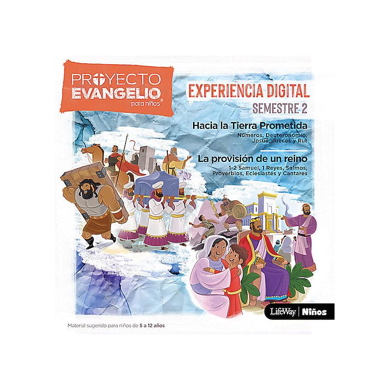El Proyecto Evangelio para niños, semestre 2 - Experiencia digital descargable