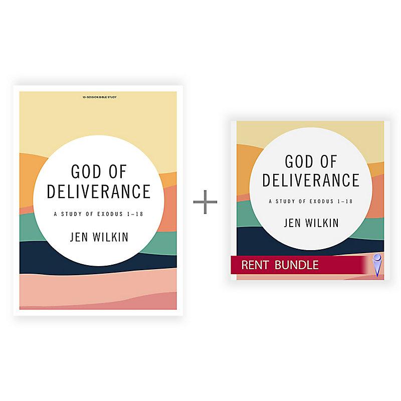 God of Deliverance - Bible Study Book + Streaming Video Bundle