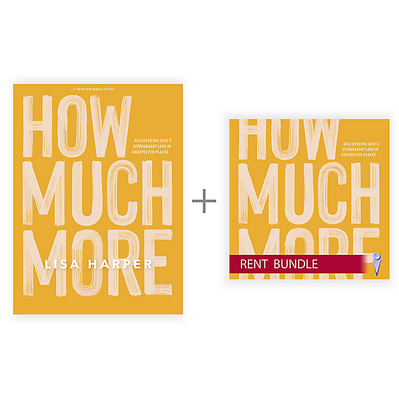How Much More - Bible Study Book + Streaming Video Access