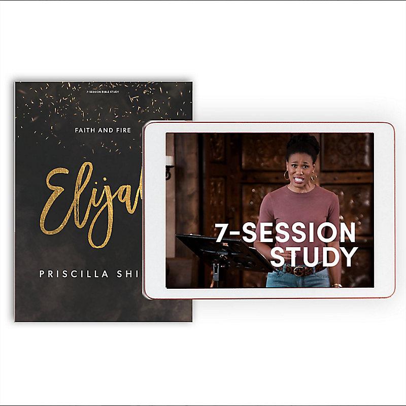 Elijah - Bible Study Book + Streaming Video Access