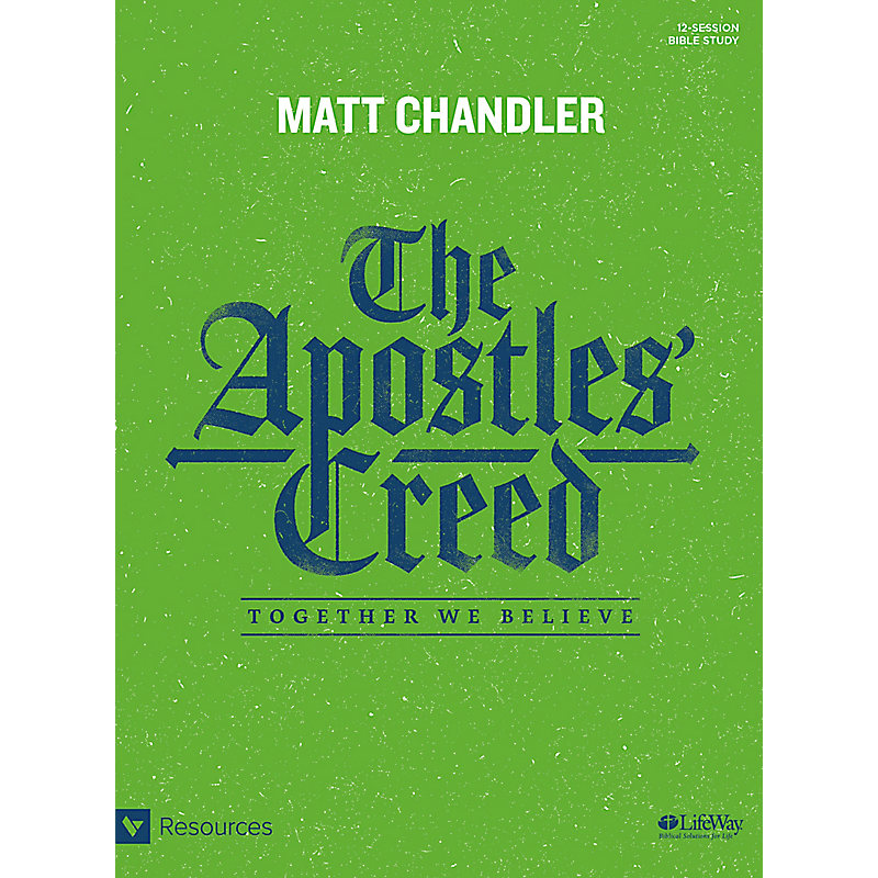 The Apostles' Creed - Bible Study Book