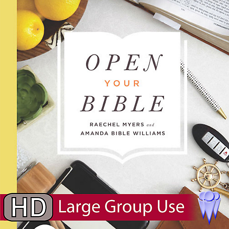E-OPEN YOUR BIBLE GROUP USE VIDEO BUNDLE