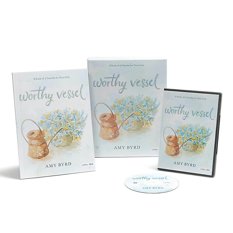 Worthy Vessel -  Teen Girls' Bible Study Leader Kit
