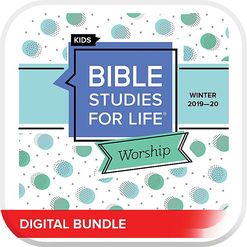 Bible Studies for Life: Kids Worship Hour Digital Winter 2020