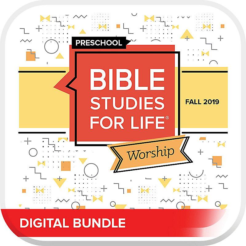 Bible Studies for Life: Preschool Worship Digital Fall 2019