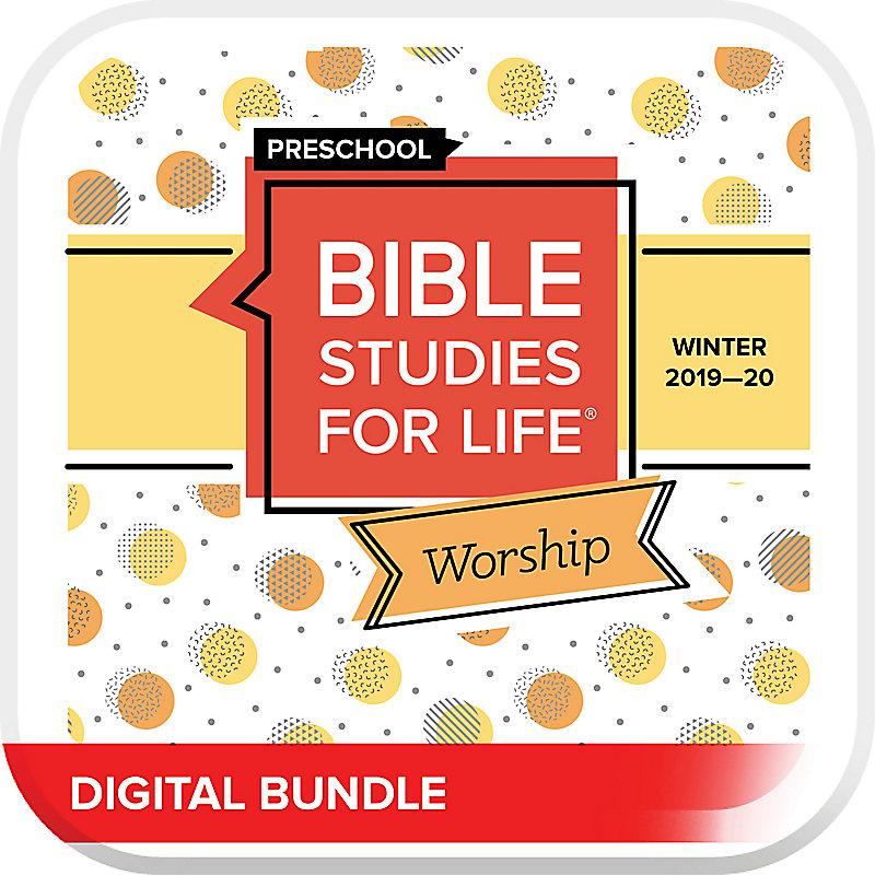 Bible Studies for Life: Preschool Worship Hour Digital Winter 2020
