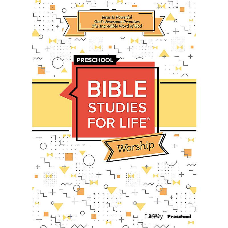 Bible Studies For Life: Preschool Worship Fall 2019