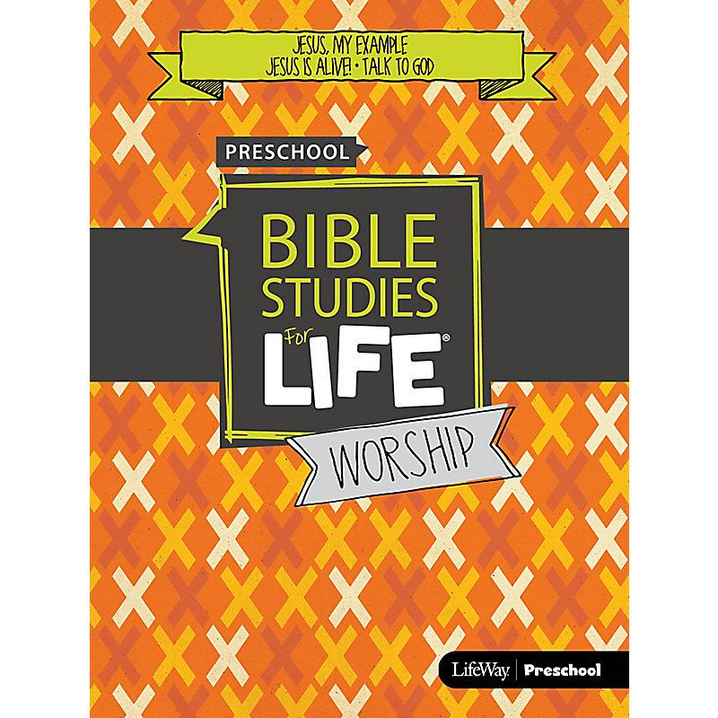Bible Studies For Life: Preschool Worship Hour Spring 2019