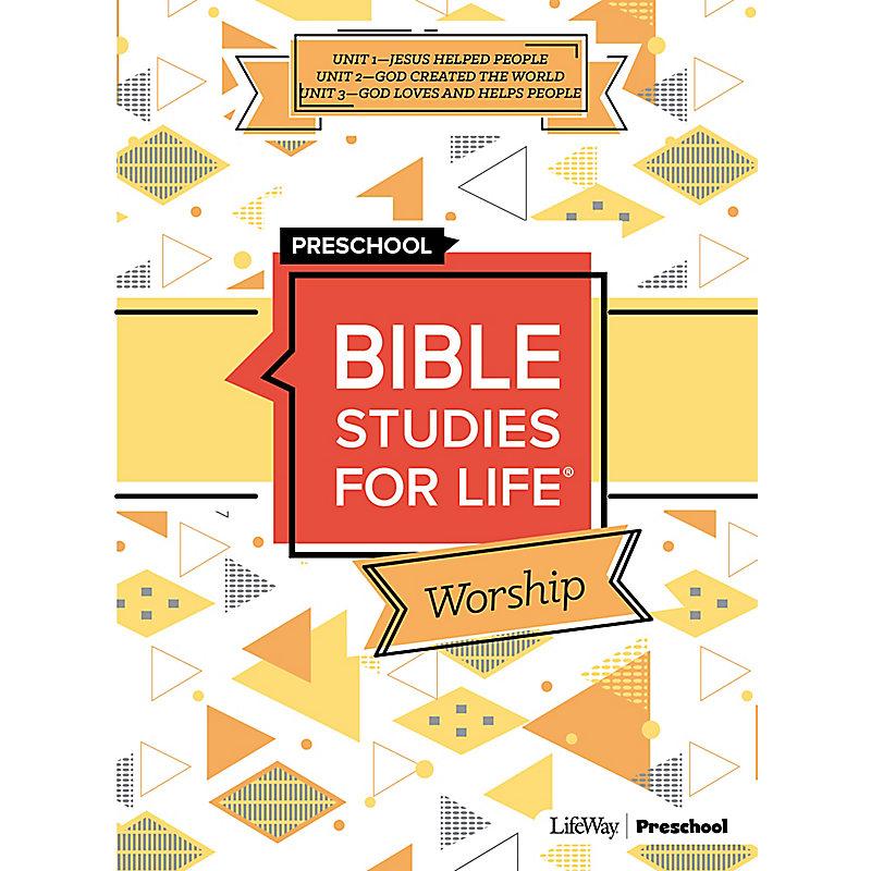 Bible Studies For Life: Preschool Worship Hour Summer 2021