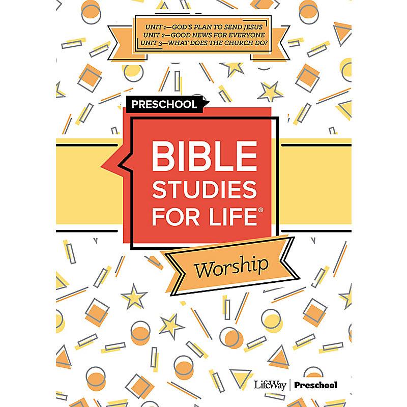 Bible Studies for Life: Preschool Worship Winter 2021