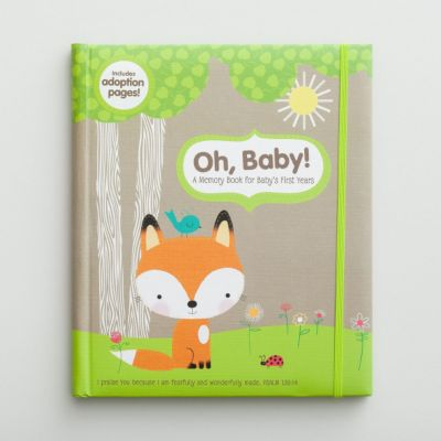 Christian gifts for babies lifeway forest friends memory book negle Gallery