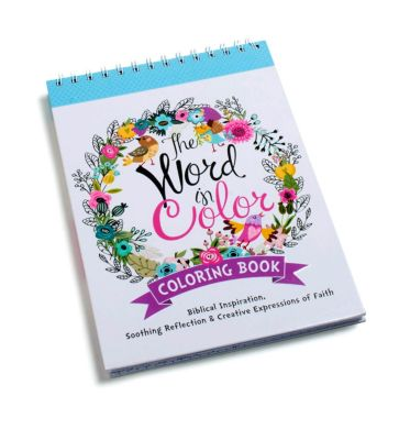 The Word In Color Adult Coloring Book - Lifeway