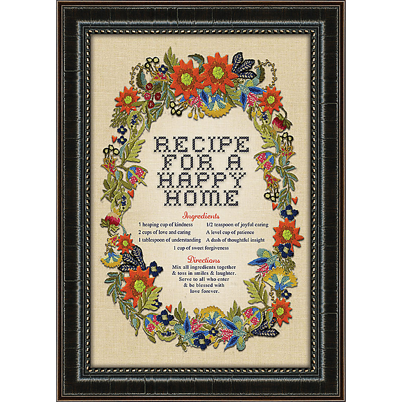 Recipe For A Happy Home Print Lifeway