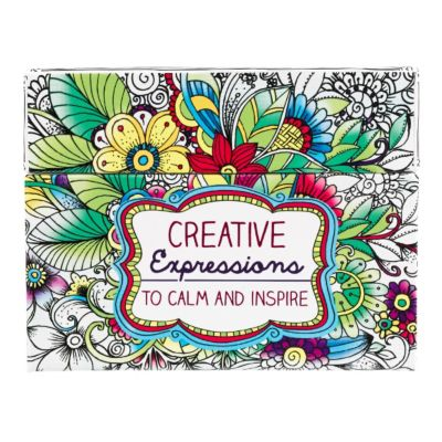 Coloring Cards Creative Expressions - LifeWay