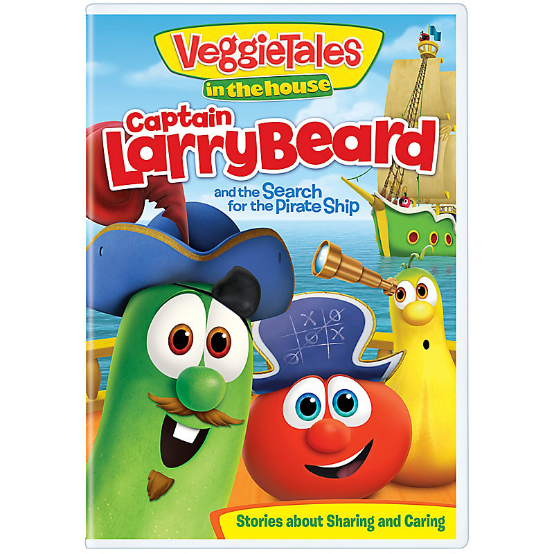 Veggietales Captain Larrybeard And The Search For The Pirate Ship