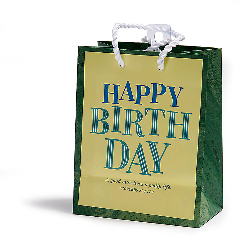 A Good Man Birthday Gift Bag Small