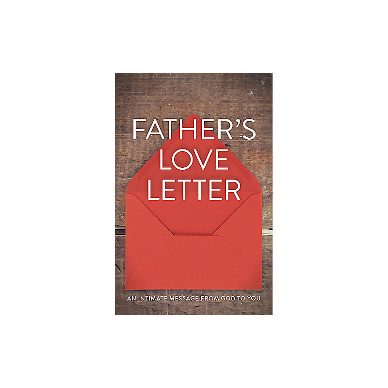 fathers love letter ats pack of 25