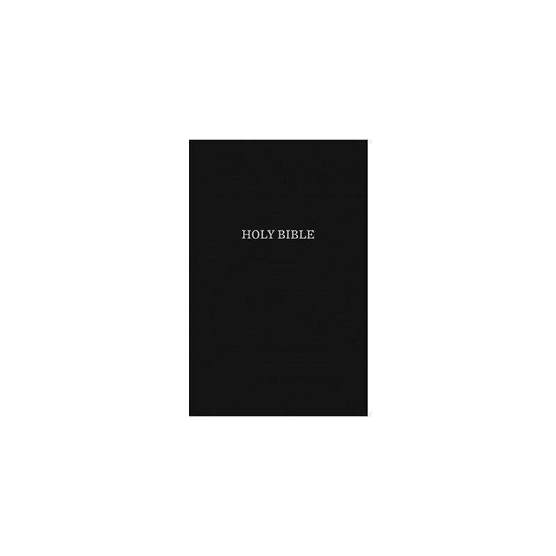 KJV, Pew Bible, Hardcover, Black, Red Letter Edition, Comfort Print