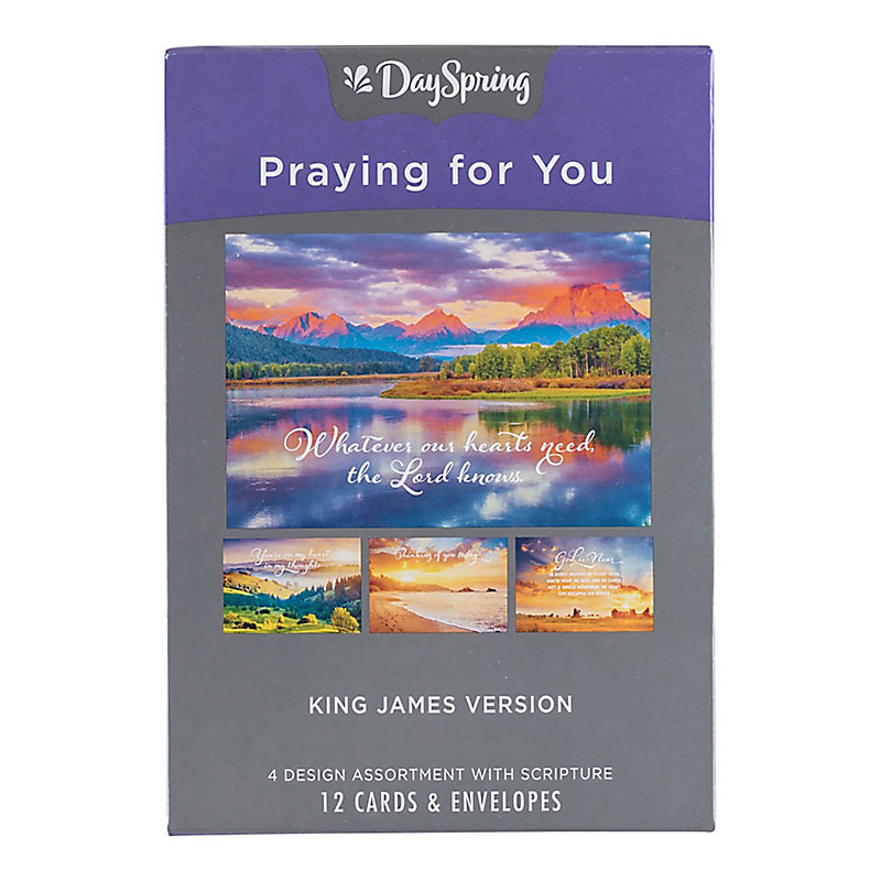 Boxed Cards: Praying for You - Heartfelt Expressions - Lifeway