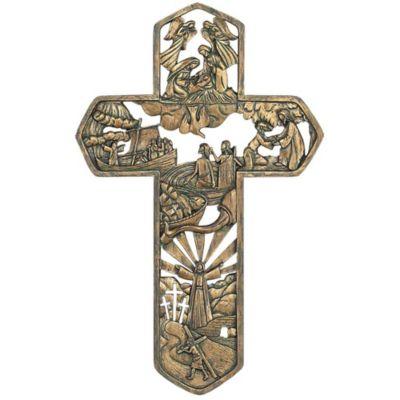Life Of Christ Wall Cross