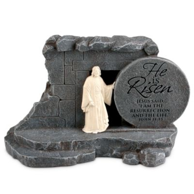 Easter gifts lifeway he is risen stone sculpture negle Gallery